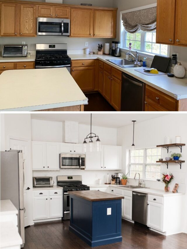 Easy Countertop Makeover for Under $150