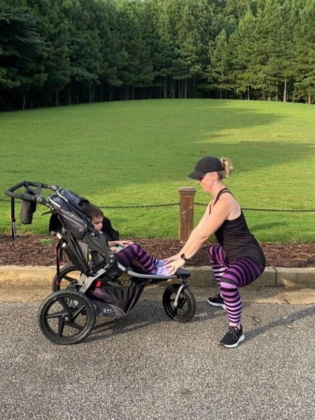 20 Minute Stroller Workout for Moms