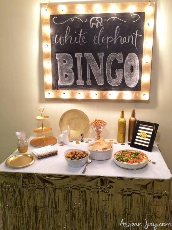 bingo food table1 - Amanda Seghetti
