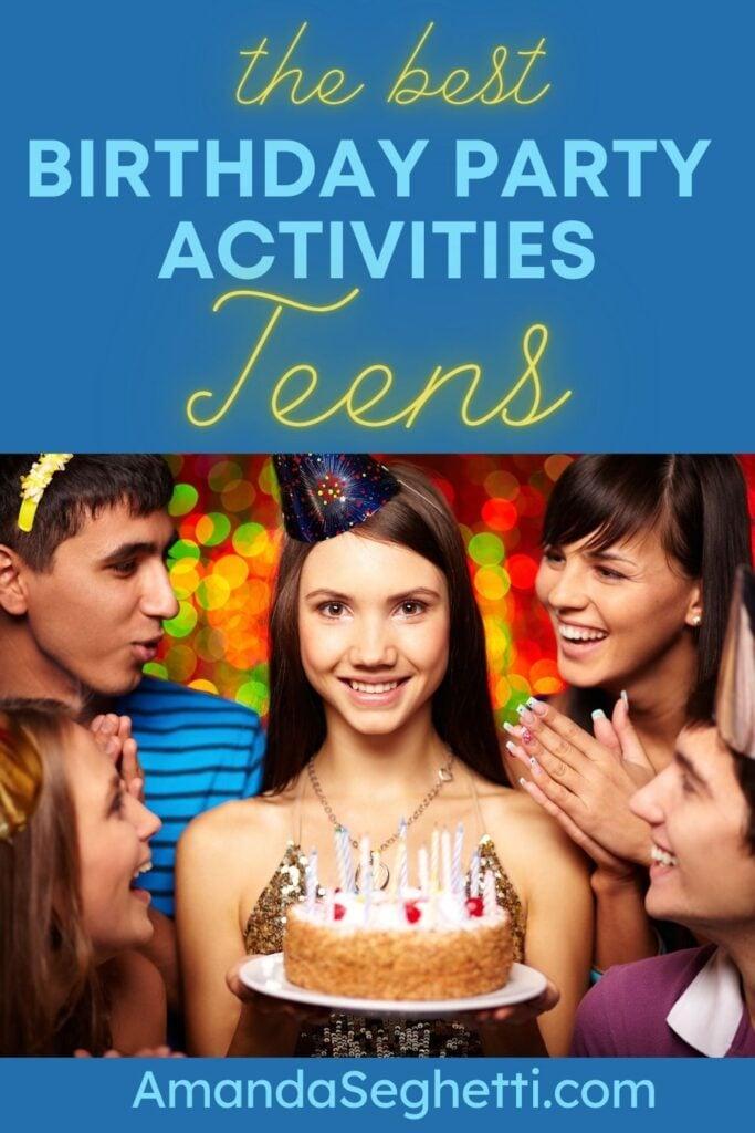 birthday party activities for teens - Amanda Seghetti