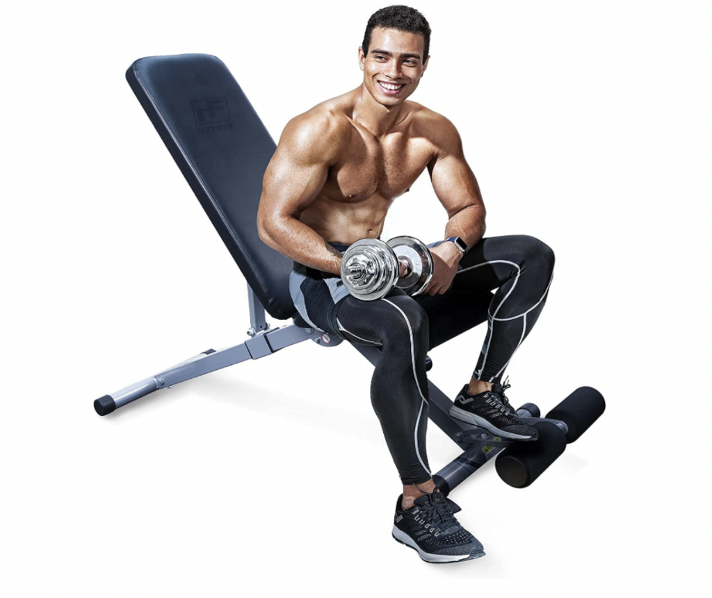 ritfit adjustable weight bench